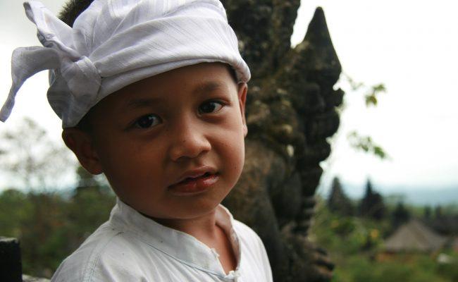 Balijski chłopiec