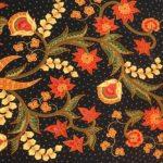 Batikowa tkanina